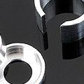 【肩+股 / 大外徑】DD強化關節用鋁合金保護套件.一組4入
