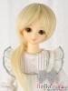 "【NC-M02】7~8"" 耐熱假髮.短髮蓄中長髮尾 #  Pale Gold"