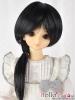 "【NC-M02】7~8"" 耐熱假髮.短髮蓄中長髮尾 #  Black"