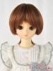 "【NC-M03】7~8"" 耐熱假髮.短髮蓄捲翹小髮尾 #  Chestnut"