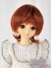 "【NC-M03】7~8"" 耐熱假髮.短髮蓄捲翹小髮尾 #  Carrot Red"