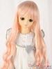 "【NC-M04】7~8"" 耐熱假髮.古典浪漫垂感細捲長髮 #  Pink Mix Gold"