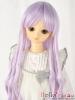 """【NC-M04】7~8"""" 耐熱假髮.古典浪漫垂感細捲長髮 #  Purple"""
