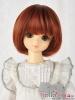 """【NC-M05】7~8"""" 耐熱假髮.可愛磨菇頭短髮 #  Carrot Red"""