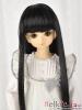 "【NC-M07】7~8"" 耐熱假髮.平剪瀏海長髮 #  Black"