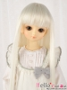 "【NC-M07】7~8"" 耐熱假髮.平剪瀏海長髮 # Cream White"