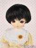 "【ND-GL04】6~7"" 耐熱假髮.自然柔捲短髮 # Black"