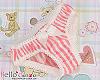 H09.【LU01A】 1/3 棉質小褲褲 # 粉紅直條紋
