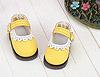 【Mini.08-05】瑪莉珍鏤空花邊圓頭迷你鞋.Yellow