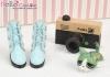 【09-6】B╱P 三孔百搭款短靴.Sky Blue