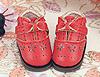 【Mini.20-03】鏤空花樣迷你蝴蝶結禮物鞋.Red