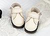 【Mini.21-04】方型側扣帶迷你踝鞋.White