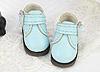 【Mini.21-08】方型側扣帶迷你踝鞋.Sky Blue