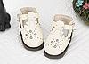 【Mini.22-01】花漾童話優雅純淨迷你鞋.White