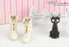 【Mini.26-01】優雅踏步雙色綁帶高跟短靴.White