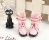 【29-3】B╱P 雙條帶側扣短靴.Pink