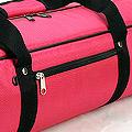 4代.70CM 外出輕便型娃袋(白色內裡)# 桃紅 Deep Pink
