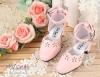 【LS-06】復古腳踝扣帶高跟鞋(SD/DD)# Pale Pink