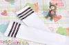 H35.【LT-17】 SD╱DD 大腿襪(學園風) # 白 + 黑條