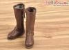 【TY01-3】Taeyang 極簡氣質.中筒靴 # Deep Brown
