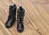 【TY03-1】Taeyang 酷帥雙扣環.短靴 # Black