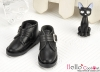 【TY5-6】Taeyang 簡潔風側扣踝鞋 # Black