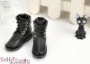 【TY6-1】Taeyang 綁帶簡約短靴 # Black