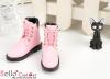 【TY6-3】Taeyang 綁帶簡約短靴 # Pink